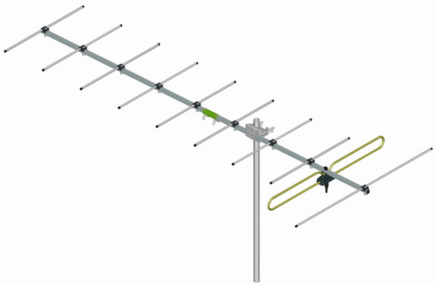 THis is a common antenna for outdoor use as opposed to an indoor HDTV antenna