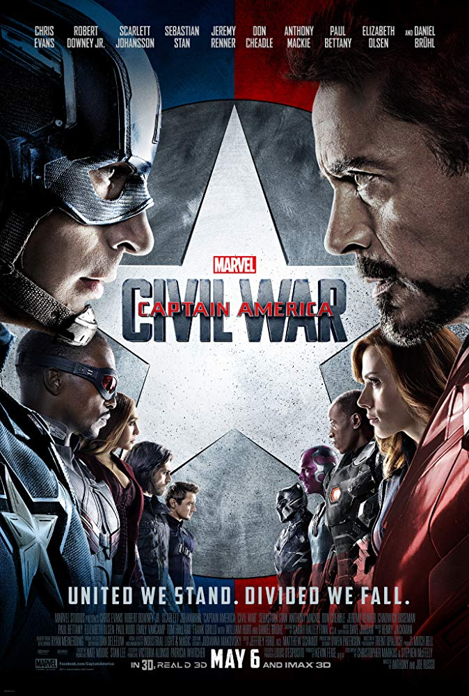 Captain America Civil War – When Heroes Fight Heroes